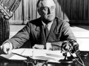 President Franklin Delano Roosevelt prohibited racial discrimination in the military.