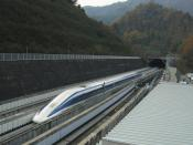 English: JR-Maglev (which is Maglev train in Japan).