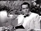 Cropped screenshot of Henry Fonda from the film The Lady Eve