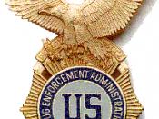 Drug Enforcement Administration badge.