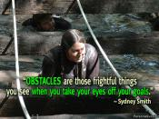 Why You See Obstacles