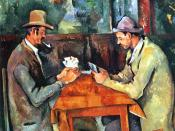 The Card Players 1892-95 Oil on canvas, 60 x 73 cm Courtauld Institute of Art, London