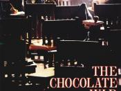 Film poster for The Chocolate War - Copyright 1988, Management Company Entertainment Group (MCEG)