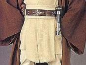 Ewan McGregor as Obi-Wan Kenobi in the Star Wars prequel trilogy.