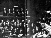 English: The poisoner Frederick Seddon being sentenced to death in 1912; the only known photograph of the death sentence being passed in an English court.