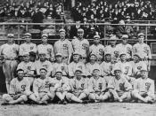 English: The 1919 Chicago White Sox Team Photo