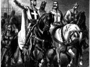 The Four Leaders of the First Crusade (1095)