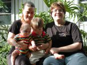 Nuclear Lesbian Family