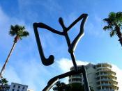Sumerian Figure In Sarasota Sky