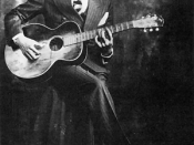Robert Johnson's studio portrait, circa 1935—one of only two verified known published photographs