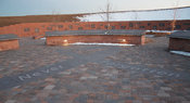 The Columbine High School Memorial, located in Clement Park in Littleton, Colorado.