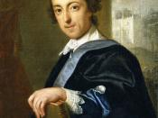 Portrait of Horace Walpole