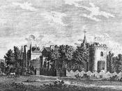 Strawberry Hill, an English villa in the