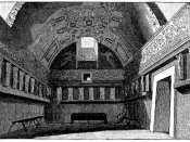 English: The tepidarium (lukewarm bath) of the Old Baths at Pompeii.