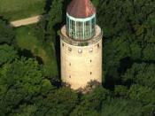 Water tower in Gödöllő, Hungary