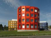 Biomedical Research Centre Seltersberg of Giessen University seen from the West.