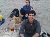 Hilde en Karim bij Stranddans