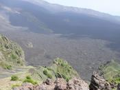 Valle del Bove on Mount Etna in Sicily