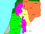 Palestine after Herod's death