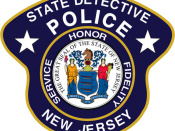 English: Image is similar, if not identical, to the New Jersey State Detective patch. Made with Photoshop.