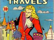Cover scan of Classic Comics no. 16: Gulliver's Travels (December 1943; Lilian Chesney cover and art)