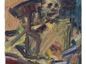 [ A ] Frank Auerbach - Catherine Lampert Seated (1990)
