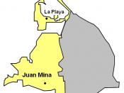 English: Barranquilla rural urban areas Español: Barranquilla zonas rural y urbana