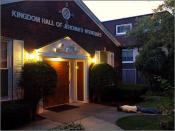 The Kingdom Hall of Face Down Tuesday