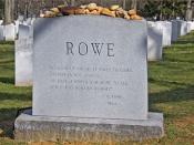 'Rowe' -- Arlington National Cemetery (VA) March 2013