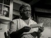 English: Claudia McNeil in A Raisin in the Sun - trailer (cropped screenshot)