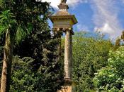 Queen Caroline's Monument at Stowe Park, Buckinghamshire