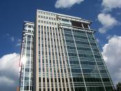 English: Picture of Simon Property Group's Headquarters; Indianapolis, IN; 2006