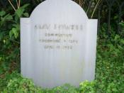 English: Grave of American poet Amy Lowell in Mount Auburn Cemetery (Cambridge, Massachusetts).