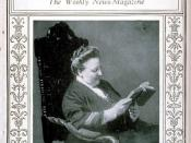 TIME Magazine cover from March 2, 1925 featuring Amy Lowell