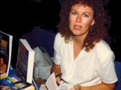 English: J.M. Dillard aka Jeanne Kalogridis - Aug 1989 - Star Trek Convention - Tampa, Florida Photo by Alan C. Teeple User:ACT1