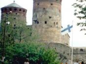 English: Olavinlinna castle in, Savonlinna, Finland in 1998 Suomi: Olavinlinna, Savonlinna, vuonna 1998
