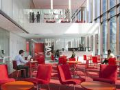 Weiss Manfredi - Diana Center at Barnard College 13 - cafe looking up double height atria.jpg