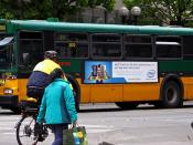 Intel Software Engineer Bus Ad in Seattle