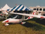 English: A Titan Tornado II at Oshkosh 2001