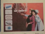 Egypte, affiche 1989