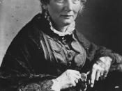 Harriet Beecher-Stowe, American abolitionist and author of Uncle Tom's Cabin