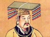 Yellow Emperor,scan from 《社会历史博物馆》 ISBN 7-5347-1397-8