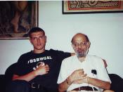 English: Mogutin & Allen Ginsberg