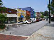 Photo of Olde Town Conyers in Rockdale County, Georgia. Photo taken by Steve Karg