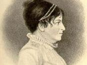 portrait card of Susanna Rowson