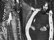 W. S. Gilbert and Marion Terry in Rosencrantz and Guildenstern, 1908
