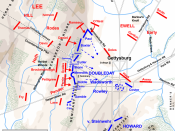 On July 1, 1863 at 4 p.m., the Army of the Potomac was positioned at the seminary.
