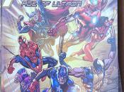 Comic book superheros
