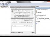 Task Scheduler 2.0 in Windows 7