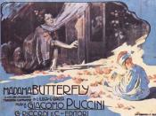Adolfo Hohenstein: poster for Madama Butterfly by Giacomo Puccini (1904).